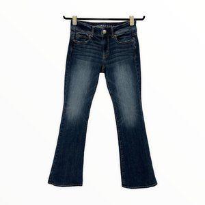 American Eagle Kick Boot Cut Jeans Size 4 Short 4S